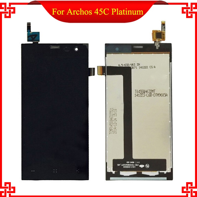 For Archos 45c Platinum lcd display with digitizer panel assembly Free Tools and Shipping With Tracking Number<br>