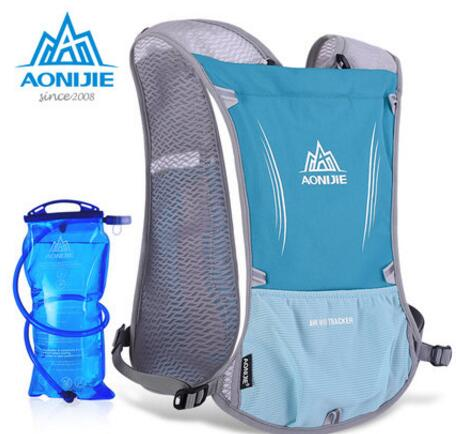 AONIJIE New Outdoor Running Water Hydration Backpack Hiking Cycling Lightweight Sport Bag With Bottle Holder 1.5L Water Bag<br><br>Aliexpress