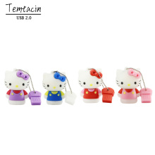 USB Pen Drive 4GB 8GB 16GB 32GB 64GB Mini USB Flash Drive Cute Hello Kitty PenDrive Memory Flash Drive U Disk Memory Stick