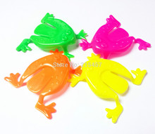 48 pc Jumping Frog Boy Kid Fun Game Goody Toy Pinata Bag Filler Loot Gag Lucky Prize Birthday Party Favors Novelty Carnival Cak