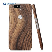 For Huawei Nexus 6P Case Fashion Wood Wooden Pattern Ultra Thin Hard Cover for Google Nexus 6P Phone Cases Protective Shell Rose