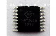 Free shipping 10pcs/lot XPT2046 TSSOP-16 touch screen control IC 2046 new original
