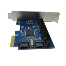PCIE to SATA2.0 raid card PCI-e to 2x SATA + IDE 40pin HDD SSD controller adapter