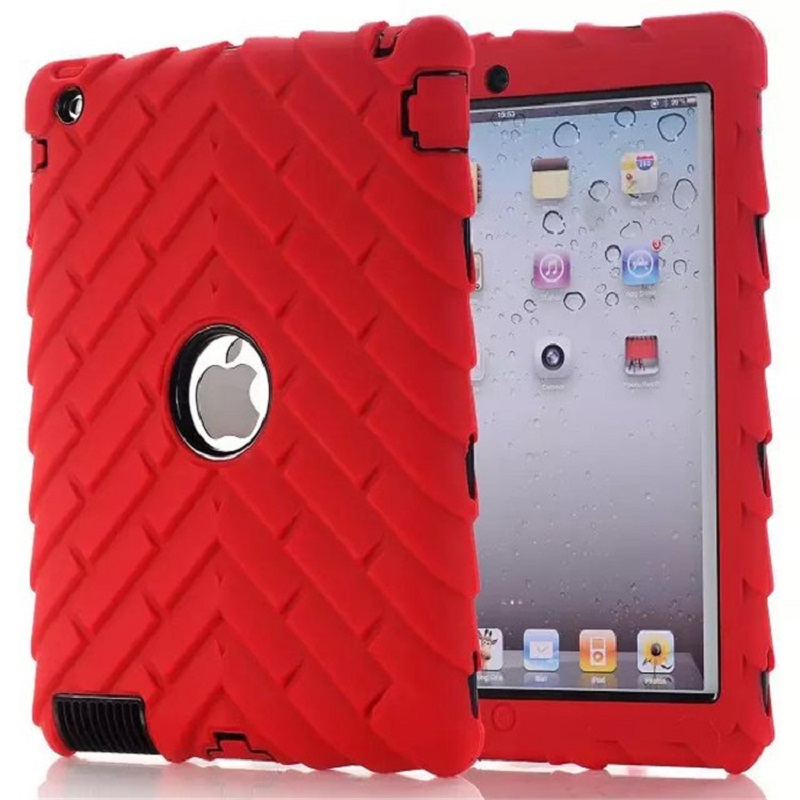 New style original quality Hard Silicone Rubber Case Cover For Apple ipad 2/3/4 display for Apple iPad logo,SKU 0134R<br><br>Aliexpress