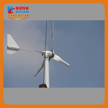 MAYLAR@ 15years 1000W 24V/48V Wind Turbine Dolphin,5pcs Blades,Start Wind Speed 3m/s,CE Certification,(China)