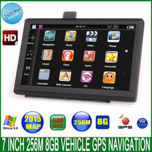2015 new 7 inch truck/car GPS Navigator FM/8GB/DDR 256M best gps for Navitel Russia/Belarus/europe/USA map WINCE 6.0 Navigation(China)