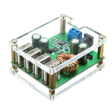 1PC DC buck Module 9V 12V 24v 36V 48V 60V turn 5V/5A high power on board regulated power supply converter Integrated Circuits(China)