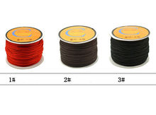 1Roll  wire 1.5mm 45 meters long 8 lines to x2b jewelry braided wire line inelasticity jade beads wholesale bodhi cord wholesale