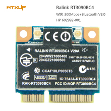 Ralink RT3090BC4 Bluetooth 3.0 Pci-Express 300mbps for HP 602992-001 wireless wifi Card Wi-fi+BT 3.0 Wlan for Laptop