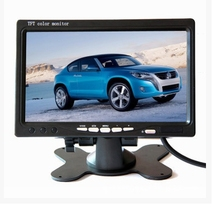 7 Inch TFT LCD Car Headrest Display Monitor Rear View Display for Rearview Reverse Backup Camera Car TV Display