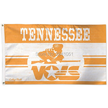 Tennessee Volunteers Throwback Vintage Team American Outdoor Indoor Football College NCAA Flag 3X5 Custom Any Flag(China)