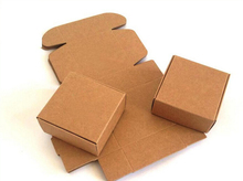 50pcs/lot 5.5*5.5*2.5cm Brown Kraft Paper Snack Box Handmade Soap Business Card Gift Jewelry Cosmetic Packaging Pack Boxes 16114