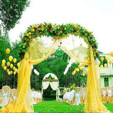 Wedding Decoration 75cm Wide Sheer Mirror Organza Fabric Tulle Roll Organza Decorations Wedding Mariage Party 20m/lot