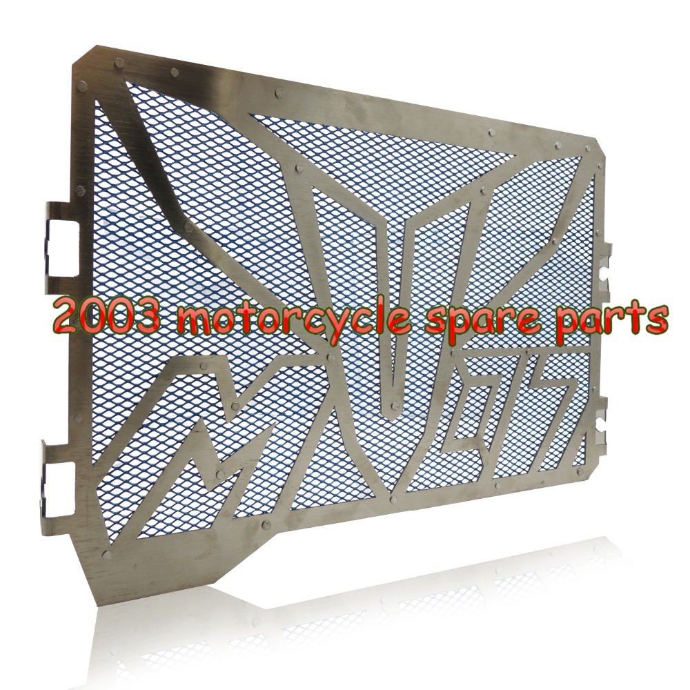 Blue For YAMAHA MT-07 2014 2015 MT07 Radiator Grille Guards Cover Protector<br><br>Aliexpress