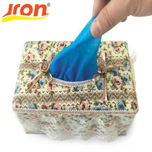 100 Pieces Pack Portable Plastic Disposable Shoe Covers Waterproof Overshoes Home Carpet Cleaning Rain Cover For Shoes With Box(China)