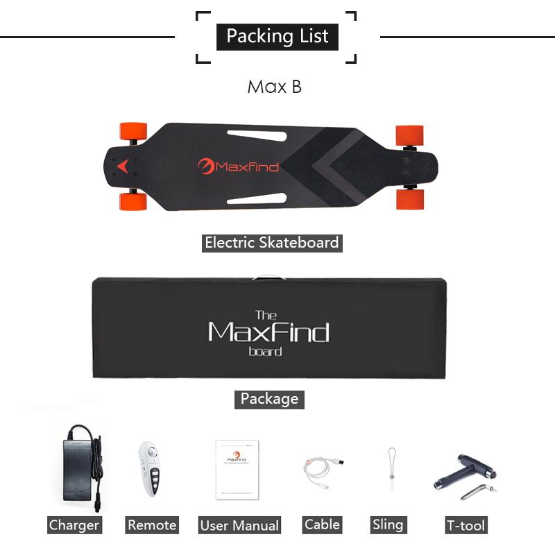 MAX B Packing List