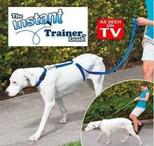 1pcs New Instant Trainer Leash As Seen On TV Large - Over 30 lbs.Dogs walking training harness leash leader(China)