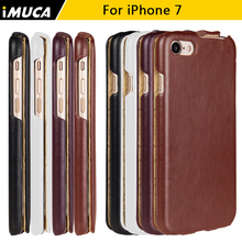 For coque iphone 7 Luxury Flip Leather Case Cover Pouch for iPhone 7 iphone7 i7 Business Mobile Phone Bags Cases Accessories