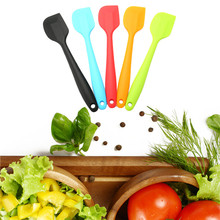 High Temperature Resistance Silicone Spatula Baking Rubber Scraper Pastry Cake Scraper Bakery Accessories Food-grade  silicone