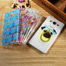 For Samsung Galaxy A 5 SM-A500F Mobile Phone Bag Dream Catcher Embossment Slim TPU Cover Shell PhoneCases for Galaxy A5 SM-A500F