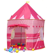Portable Princess Castle Play Tent Children Activity Fairy House kids Funny Indoor Outdoor Playhouse Toy Tents FL