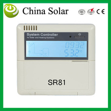 Intelligent Split Solar Water Heater Controller anti-dry heating fctn SR81, control pump or 3-way electromagtenic valves(China)