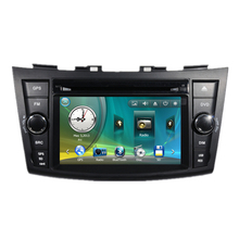 "7"" Car Radio DVD GPS Navigation Central Multimeia for Suzuki Swift 2011 2012 2013 2014 2015 SD RDS Analog TV Bluetooth Handsfree"