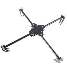 KK Glass fiber Multicopte Quad-Rotor Multi copter KIT RC Heli,aerial photography(China)