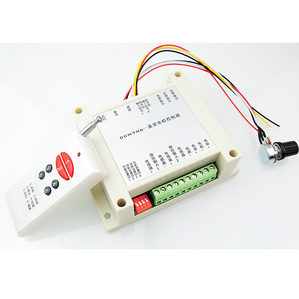 12-30V 200W Brushed DC Motor Speed Controller PWM HHO RC Governor Remote Control<br>