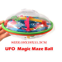99 Steps UFO Shape 3D puzzle Ball Perplexus Magical Intellect Ball IQ Balance Educational Toys Ability Game For Children adults(China)