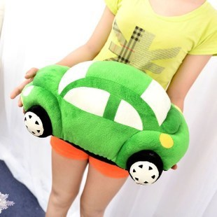 stuffed plush 65cm car plush toy green car doll w1543<br>