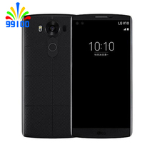 "Original Unlocked LG V10 H901 F600 5.7"" 4GB RAM 64GB ROM single/dual sim 3 cameras Refurbished Phone NO Hebrew language(China)"