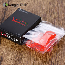 5packs Original KangerTech TOPTANK Mini Tank Silicone Control Ring Colorful Silicon Seal Ring Set electronic cigarette (5 packs)