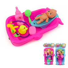 Baby Bath Toys for Children Kids Water Toys Bathtub Cognitive Floating Toy Bathroom Game Play Set Early Educational Newborn Gift(China)