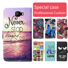 Buy Fashion cartoon printed flip wallet leather case Elephone S8 Card Slot phone bag book case,free gift for $3.99 in AliExpress store