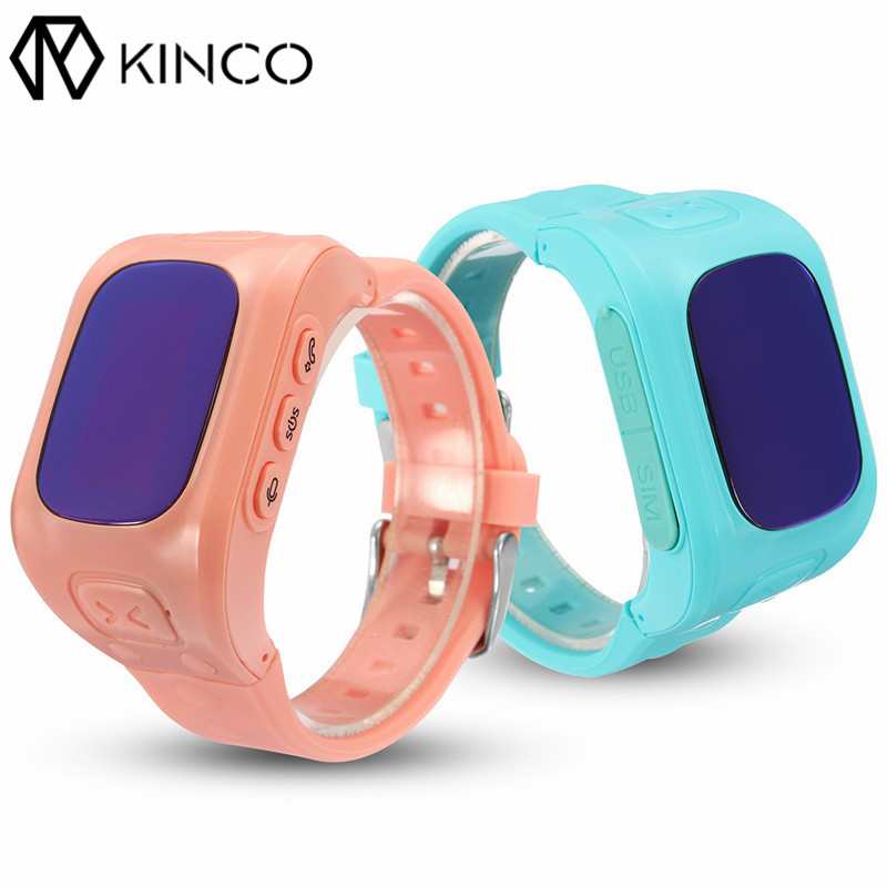 SOS Call Remote Voice Monitor GPS+LBS+WIFI Position Anti-lost Family Number Dow Corning Smart Child Kids Watch for IOS/Android<br>