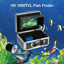 Fishing Finder 7'' Color Digital LCD Fish Finder HD 1000TVL 120 Degree Wide Carp Fishing 12LED Fishing Camera Underwater Pesca(China)