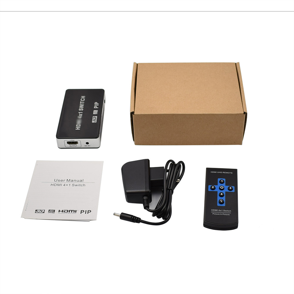 Pip 4 To 1 Hdmi Switch For Ps3 Ps4 Splitter Switcher Ap5816 Apc Rack Lcd Console With Integrated 16 Port Analog Kvm 1about Address