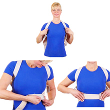 1Pcs Corset for Posture Best Adult Custom-made Babaka Correct Posture Corrector Vest Braces Back Support Belt orthopedics Z49001(China)