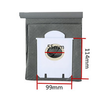 New Arrival Vacuum Cleaner Bags Dust Bag Replacement For Philips FC8134 FC8613 FC8614 FC8220 FC8222 FC8224 FC8200(China)