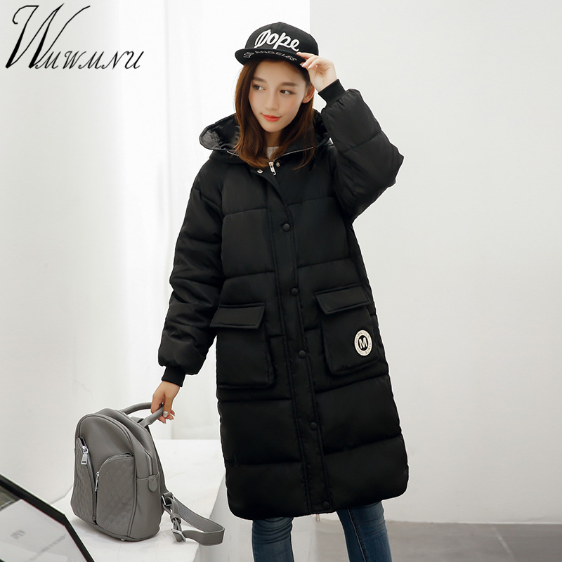 Wmwmnu 2017 new Womens winter jacket Casual Fashion Women Parka High-Quality Female Hooded warm Coat big yard ParkaÎäåæäà è àêñåññóàðû<br><br>