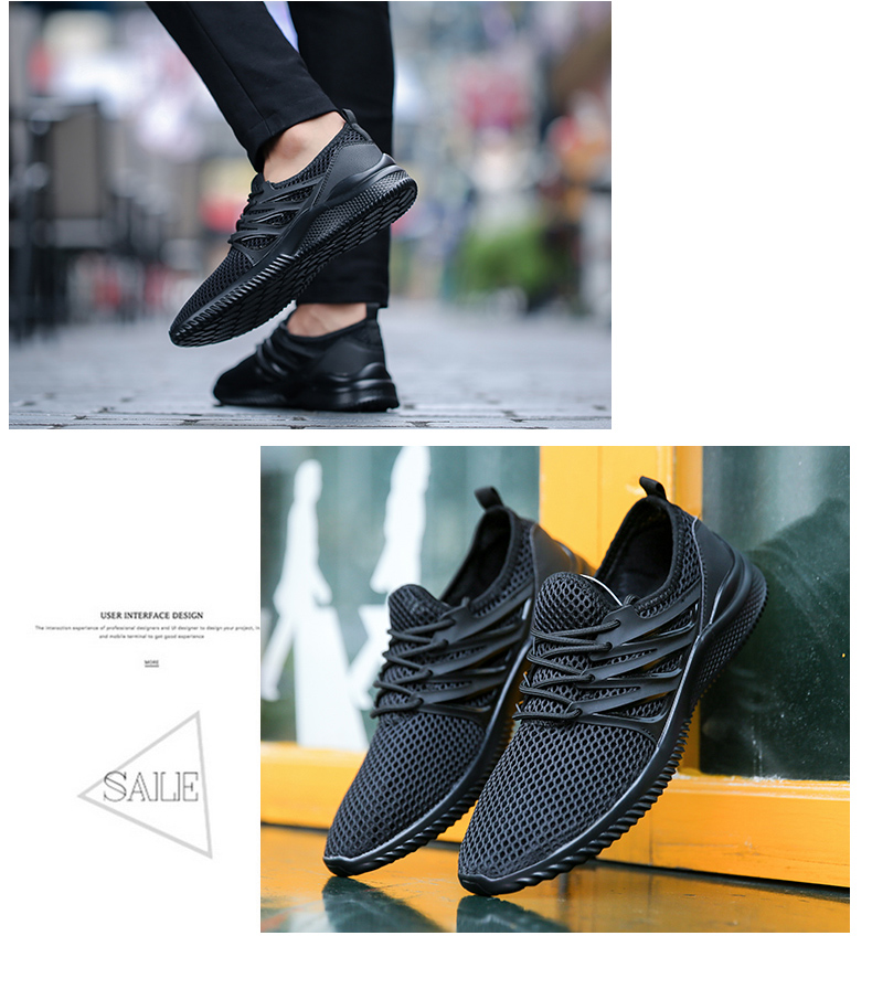 2018 New Arrivals Men's Fashion Summer Casual Shoes Man Sneakers Breathable Trainers Male Footwear Adult Krasovki Plus Size 45 51 Online shopping Bangladesh