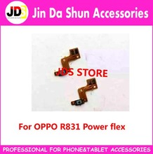 50pcs/lot For OPPO R831 Power Switch On Off  Key Button Flex Cable Compatible for many China Brand Phone