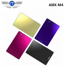 10pcs/lot Ultra Thin AIEK M4 Mini Cell phones Student Version Low Radiation mini pocket students hildren phone free gift