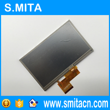 5 polegada para Garmin Nuvi 1490 1490 T 1460 1460 T AT050TN34 AT050TN34 V1 TFT lcd digitador(China)
