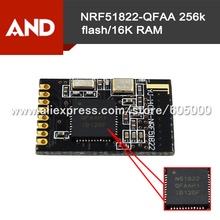 2pcs Tiny Bluetooth 4.0 module,NRF51822 2.4G Wireless Module for iBeacon OS,Nordic 51822 solution NRF51822-QFAA 256k flash/16K