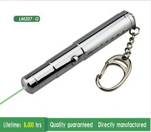 JSHFEI 532nm Green Laser Pointer Pen Military 50mw Laser Vert Keychain Laserpen AAA Battery and Gift Box wholesale lazer