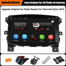 Upgraded Original Car Radio Player Suit to Chevrolet Epica 2013 GPS Navigation Car Video Player WiFi Bluetooth(China)