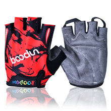 NEW Sport Child Car Partten Riding MTB Cycling Gloves Half Finger Bike Skiing Short Gloves Breathable Summer Kids Bicycle Gloves(China)