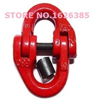 3.15--5.3Ton G80 connecting link chain industrial grade lifting rigging hardware forged alloy steel chain connector hoist